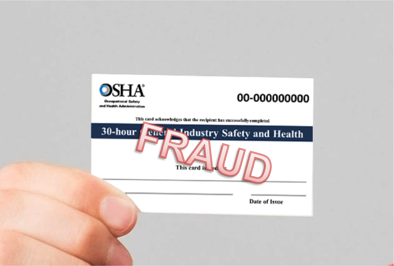 Fraudulent osha training cards a disturbing trend osha fraudulent osha training cards a disturbing trend 1betcityfo Images